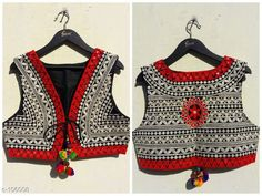 Ethnic Jackets & Shrugs Classic Cotton Jacket  *Fabric* Cotton   *Sleeves* Sleeves Are Not Included   *Size* S - 36 in, M - 38 in, L - 40 in, XL - 42 in   *Length* Up to 20 in   *Type* Stitched   *Description* It Has 1 Piece of Jacket   *Work* Kutchi Work  *Sizes Available* XS, S, M, L *   Catalog Rating: ★4.2 (161)  Catalog Name:  Kutchian Fancy Jackets Vol 1 CatalogID_10484 C74-SC1008 Code: 093-106008-