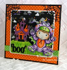 La-La Land Crafts Inspiration and Tutorial Blog: Inspirational Friday ~ Halloween...
