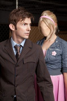 10th Doctor and Rose (Doctor Who) cosplay