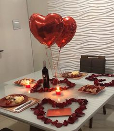 romantic room surprise for him ~ romantic room surprise for him - romantic room decoration - romantic room - romantic room surprise - romantic room surprise for him hotel - romantic room decor - romantic room decoration for him - romantic room ideas Romantic Dinner Tables, Romantic Dinner Setting, Romantic Night, Romantic Dinners, Romantic Gifts, Romantic Food, Romantic Dates, Valentines Day History, Valentines Gifts For Boyfriend