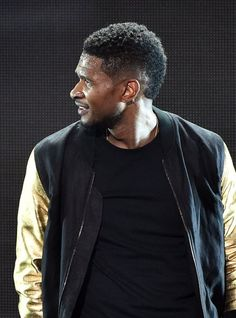 Usher black haircut