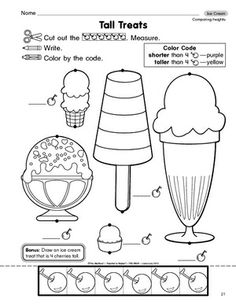 1000 images about preschool ice cream on pinterest the mailbox worksheets and ice cream theme. Black Bedroom Furniture Sets. Home Design Ideas