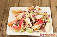 Using low-fat yogurt makes this classic salad healthier than other recipes. via @SparkPeople