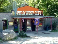 Entrance to Wild West City