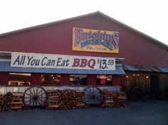 Hutchin's BBQ and Grill, 1301 N.Tennesse, McKinney, TX - Smoking #localyocal all natural angus brisket as of May 2013.
