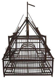 GEREN LOCKHART'S PICK - Chinese antique bird cage - $550.