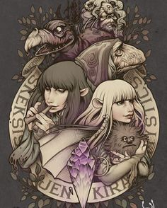 Official Dark Crystal design by Medusa- on can find Jim henson and more on our website.Official Dark Crystal design by Medusa- on Fantasy Films, Fantasy Characters, Fantasy Art, High Fantasy, Dark Crystal Movie, The Dark Crystal, Crystal Drawing, Crystal Tattoo, Art Tumblr