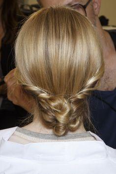 #hairstyle at Valentino HC Fall 2013