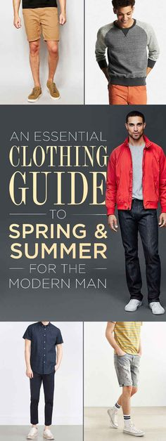 Here's Everything You're Going To Want The Guy In Your Life To Wear This Spring