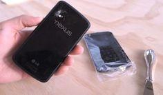 Come sostituire il vetro posteriore del Nexus 4