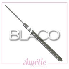 Amelie inox tools sgorbia num.3