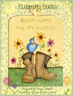 Painting With Friends E Pattern  Blooming by PaintingWithFriends, $5.00