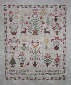 1000 images about cross stitch blackbird designs on for Blackbird designs christmas garden