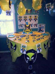 Wolverine birthday party