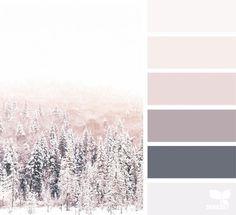 winter tones image via julie audet seedscolor designseeds color palette colorpalette christmas winter snow Design Seeds, Colour Pallette, Colour Schemes, Winter Colour Palette, Color Tones, Gray Color, Neutral Color Palettes, Mink Colour, Bathroom Color Schemes