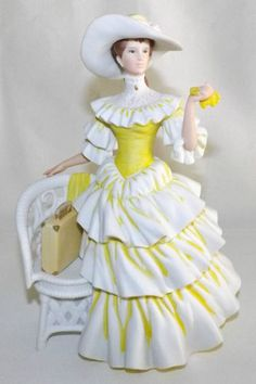 1990 Avon Mrs Albee Star Presidents Club Porcelain Figurine - I have this one, along with about 15 others!