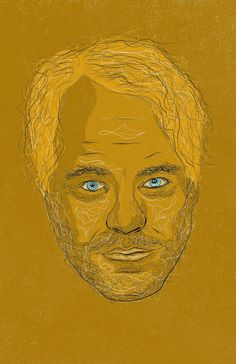Portrait illustration of the late, great Philip Seymour Hoffman
