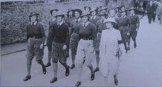 Land army girls.