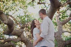 Orchard Engagement Photoshoot