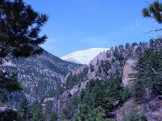 Climbing Pikes Peak ©2012 Middle Aged Ski Bum