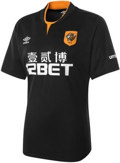 New Umbro Hull City Kits unveiled. The Hull Home Shirt is orange with black stripes, while the new Umbro Hull City Away Kit is black with orange accents. The new Hull City Third Kit is white with black and sky blue elements. Soccer Kits, Football Kits, Nike Football, Football Jerseys, Basketball Scoreboard, Basketball Jersey, Team Shirts, Sports Shirts, British Football