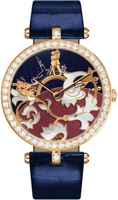 Bal du Siècle watch from the Van Cleef & Arpels Bals de Légende collection Amazing Watches, Beautiful Watches, Cool Watches, Watches For Men, Unique Watches, Van Cleef Arpels, Versace, Audemars Piguet, High Jewelry