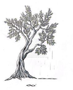 Olive Tree by RevelationInk.deviantart.com on @de