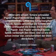 The best quotes from Sheldon Cooper - Die besten Zitate von Sheldon Cooper – bluemind.tv The best quotes from Sheldon Cooper - Spock, Big Bang Theory Zitate, Funny Quotes About Life, Life Quotes, Movies To Watch List, Big Bang Theory Quotes, Citations Film, Friends Laughing, Geek Humor