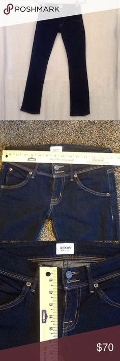 Hudson Baby Beth jeans. Baby Beth boot cut super skinny jean. Hudson Jeans Jeans Skinny