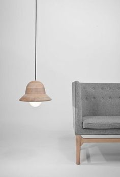 WOOD DESIGN BLOG || The best from around the web – this week in Wood Design || #architecture #interiors #wood #design #furniture ||   Wood Lighting- Hat Lamp by Norm Architects