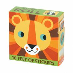 Mudpuppy Animal Sticker Roll of the World Sticker Roll in Dispenser Featuring Fun Artwork for Ages 3 , Boy Party Favors, Unique Party Favors, Bicycle Cards, Bicycle Playing Cards, Pokey Little Puppy, Discount Toys, Rainbow Lollipops, Giant Candy, Bomb Making