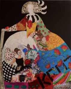 oleos de meninas - Buscar con Google                              … Painting Collage, Collage Artists, Paintings, Cicely Mary Barker, Various Artists, Illustrations, Art Lessons, Quilt Blocks, Fashion Art