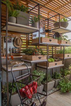 Espaço de Receber da Chef de Cozinha | CASACOR | Casa de Valentina