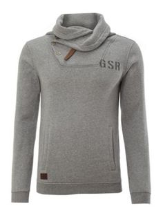 G-Star Hooded sweat shirt Grey - House of Fraser