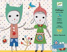 """Collagen """"Lämmchen"""" von Djeco für Kinder ab 3 Jahren Djeco http://www.amazon.de/dp/B00A6I3RQK/ref=cm_sw_r_pi_dp_J8s6wb1T48WMV"""