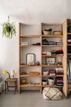 studio storage shelving