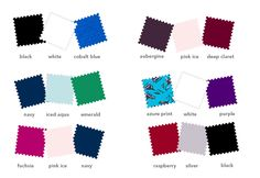 Winter combinations from www.kettlewellcolours.co.uk