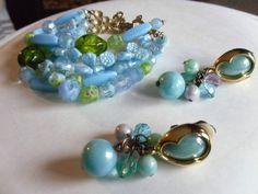 Schiaparelli Bracelet and Earrings EX Condition NR | eBay