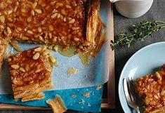 Honig-Pinienkerne-Tarte