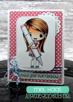 Stamp Annie Thing: January Release - Day 3 - Samantha - Make Your Own Rainbow