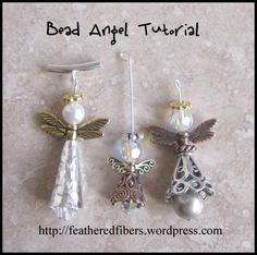 beadangels by Carla's Feathered Fibers, via Flickr