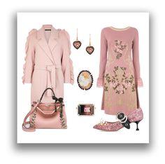 """Sweater Dress: Alberta Ferretti"" by adalubdub ❤ liked on Polyvore featuring Irene Neuwirth, Mother of Pearl, Alberta Ferretti, Miu Miu, Latelita, Amedeo, Fendi, vintage, Prada and AlbertaFerretti"