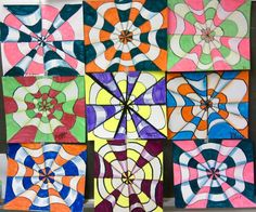 Optical Illusion Art Projects | Optical Illusion Art Project, ages 8-12