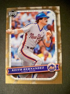 2005 Upper Deck Classics #60 Keith Hernandez Mets NM/MT