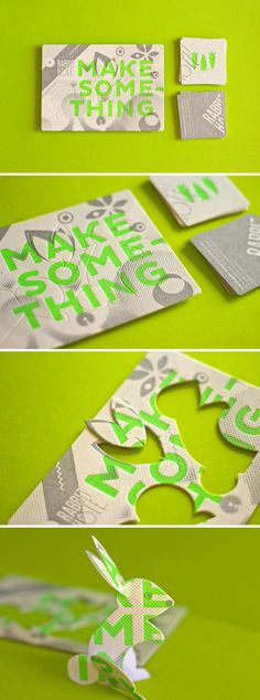 The Hungry Workshop developed a promotional piece for The Rabbit Hole Ideation Café. The piece features lots of fun production details, including fluorescent and metallic inks and custom die cuts. So much fun!