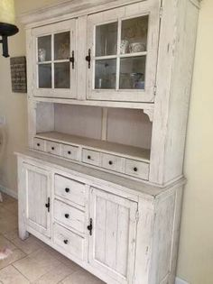 Broyhill Attic Heirlooms Collection Antique Style Hutch | Attic, Garden  Furniture And Cupboard