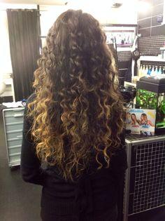Ombrè hair