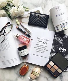Right in the middle of May and the year is zooming by like a speed train on crack - how have you been spending your days, and using your 2016 planner? My Beauty, Beauty Hacks, Flat Lay Inspiration, Makeup Inspiration, Paper Bunny, What In My Bag, Flat Lay Photography, Flatlay Styling, Makeup Blog