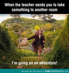 My moment of adventure in school