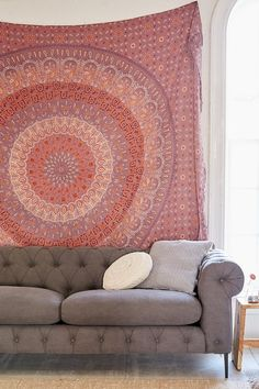 Maina Medallion Tapestry